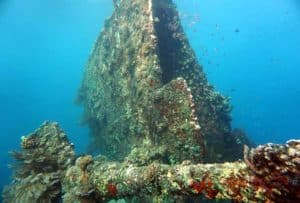 Japanese Wreck in Amed Bali
