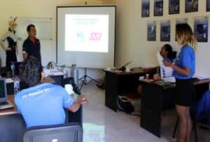 SSI Instructor Training Kurs auf Bali