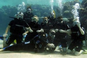 Group Foto Scuba Diving di Bali