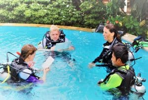 Instructor Training Course Pool Presentation Bali