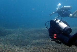 Open Water Dive di Kursus Basic Diver
